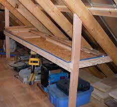 shop attic remodel