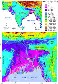 Himalayan Mts Map Groundwater Dynamics And Arsenic Mobilisation In Bangladesh A