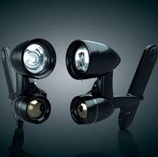 goldwing driving lights reviews kuryakyn gloss black driving lights 446 556 j p cycles