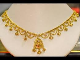 simple gold jewellery designs