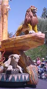 lion king celebration yesterland