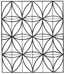 tessellation coloring pages geometric tessellation with rhombus