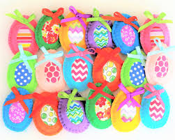 easter ornaments felt easter decorations easter eggs easter felt ornaments easter