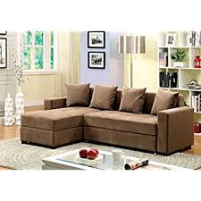 Sectional Sofa With Storage Furniture Of America Laurence Sectional Sofa Sleeper