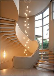 Grand Stairs Design Contemporary Grand Staircase With Glass Bubble Chandelier S P δ