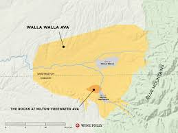 Oregon Wineries Map by Walla Walla Winery Listed The West One Group