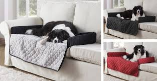 adorable sofa pet cover with dog bed reversible microfiber couch