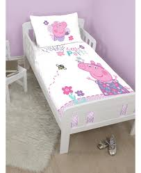 Peppa Pig Toddler Bed Set This Official Junior Bedding Set Is A Must For Peppa Pig