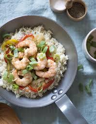 riz cuisine riz sauté aux crevettes pour 4 personnes recettes à table