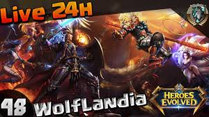 heroes evolved ranked push live 24horas ou ate top 10 48 youtube