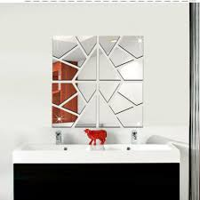 Home Decoration Stickers by Online Get Cheap Bathroom Mirror Stickers Aliexpress Com