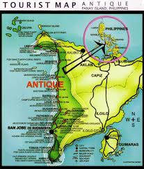 Phillipines Map Antique Province Tourist Map Philippines My Philippine Life