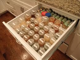 schubladeneins tze k che 25 gewürzaufbewahrung ideen besonders für kleine küchen geeignet