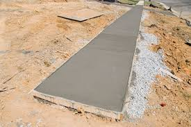 How Thick For Concrete Patio How Thick Should A Concrete Walkway Be Hunker