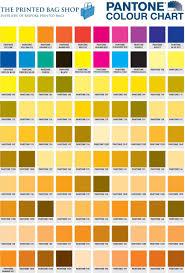 Pantone Yellow by Pantone Colour Guide The Printed Bag Shop Pantone Numbers