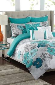 Teal King Size Comforter Sets Awesome Best 20 Teal Bedding Ideas On Pinterest Teal And Gray Bedding Within Teal Color Comforter Sets Jpg