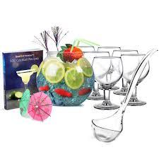 cocktail fish bowl set cocktail starter set cocktail party set