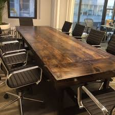 dark wood conference table custom made 10 conference table for any business setting joppa