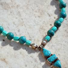 real turquoise stone necklace images Statement turquoise stone necklace 100 authentic guatemalan jpg