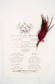 Winter Wedding Programs Bohemian Winter Wedding At Devil U0027s Thumb Ranch Ja Special Events