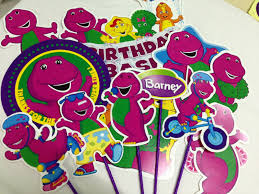 Party Hat Barney Party for baby Aisya