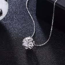 hip necklace chain images Soccer ball hippie pendant necklace hip hop jewelry 925 sterling jpg
