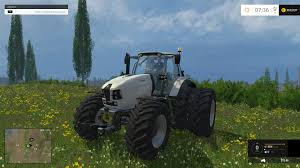 lamborghini tractor lamborghini mach230vrt with dynamic twin rear wheels tractor v1 0
