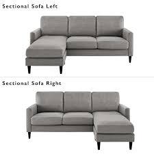 Reversible Sectional Sofa Zipcode Design Cazenovia Reversible Sectional Reviews Wayfair