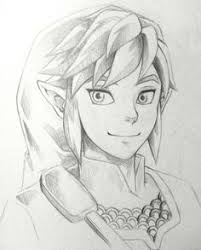 link from legend of zelda draw pinterest gaming video games
