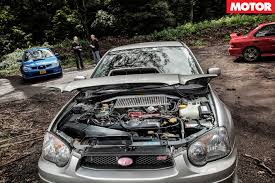 modified subaru wrx subaru wrx celebration 2nd generation motor