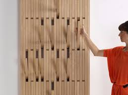 wall mounted oak coat rack piano by peruse design patrick seha
