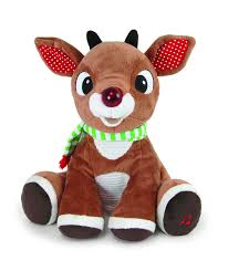 amazon light rudolph plush music lights toys u0026 games
