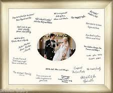 wedding autograph frame wedding signature frame ebay