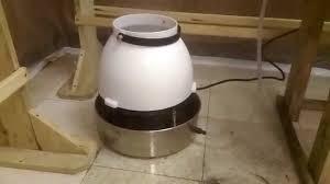 new centrifugal humidifier in mushroom grow room youtube