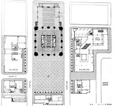 Philip Johnson Glass House Floor Plan by Gallery Of Ad Classics Ppg Place John Burgee Architects With