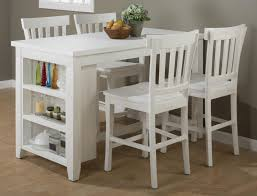 Patio Furniture Counter Height Table Sets Island Nook Reclaimed Pine Counter Height Table Set With 3 Shelf