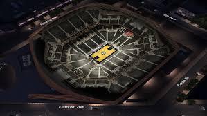 barclays center floor plan brooklyn nets virtual venue by iomedia