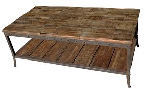 Affordable Coffee Tables by Wood And Metal Coffee Table Pallet Wood And Metal Leg Nesting