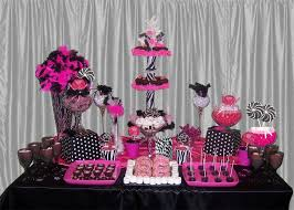 Black And White Candy Buffet Ideas by Poker Tournament Fundraiser Candy Buffet Red And Black Themed