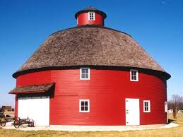 Red Barn Theatre Indiana Round Barn In Tipton Indiana Barns Great And Small Pinterest