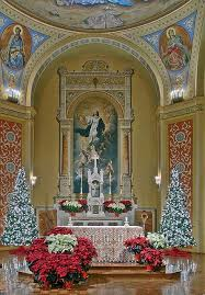 Easter Decorations Catholic Church by Best 25 Church Altar Decorations Ideas On Pinterest Church
