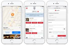 Iphone Maps Not Working Opentable For Ios 10 New Ways To Book Connect And Pay