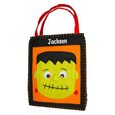 personalized classic mr frank stein trick or treat bag small