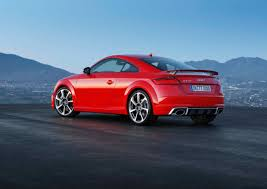 audi tt rs coupe and tt rs roadster bring the power