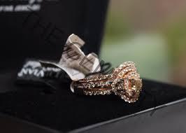 levian engagement rings levian bridal set chocolate white diamonds 14k gold 2 25