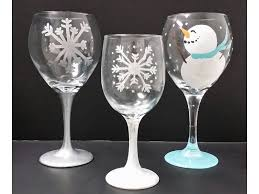 paint nh now offers wine glass ornament painting
