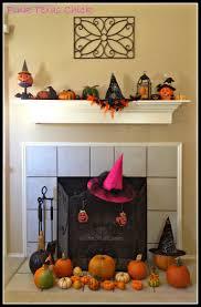 my halloween u0026 fall mantel