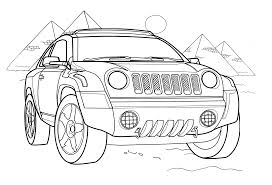 car coloring pages 360coloringpages