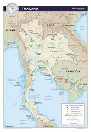 Thailand On World Map by Maps Of Thailand Detailed Map Of Thailand In English Tourist