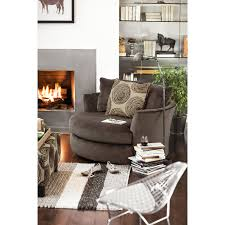 rooms to go swivel chair cordelle swivel chair chocolate value city furniture and
